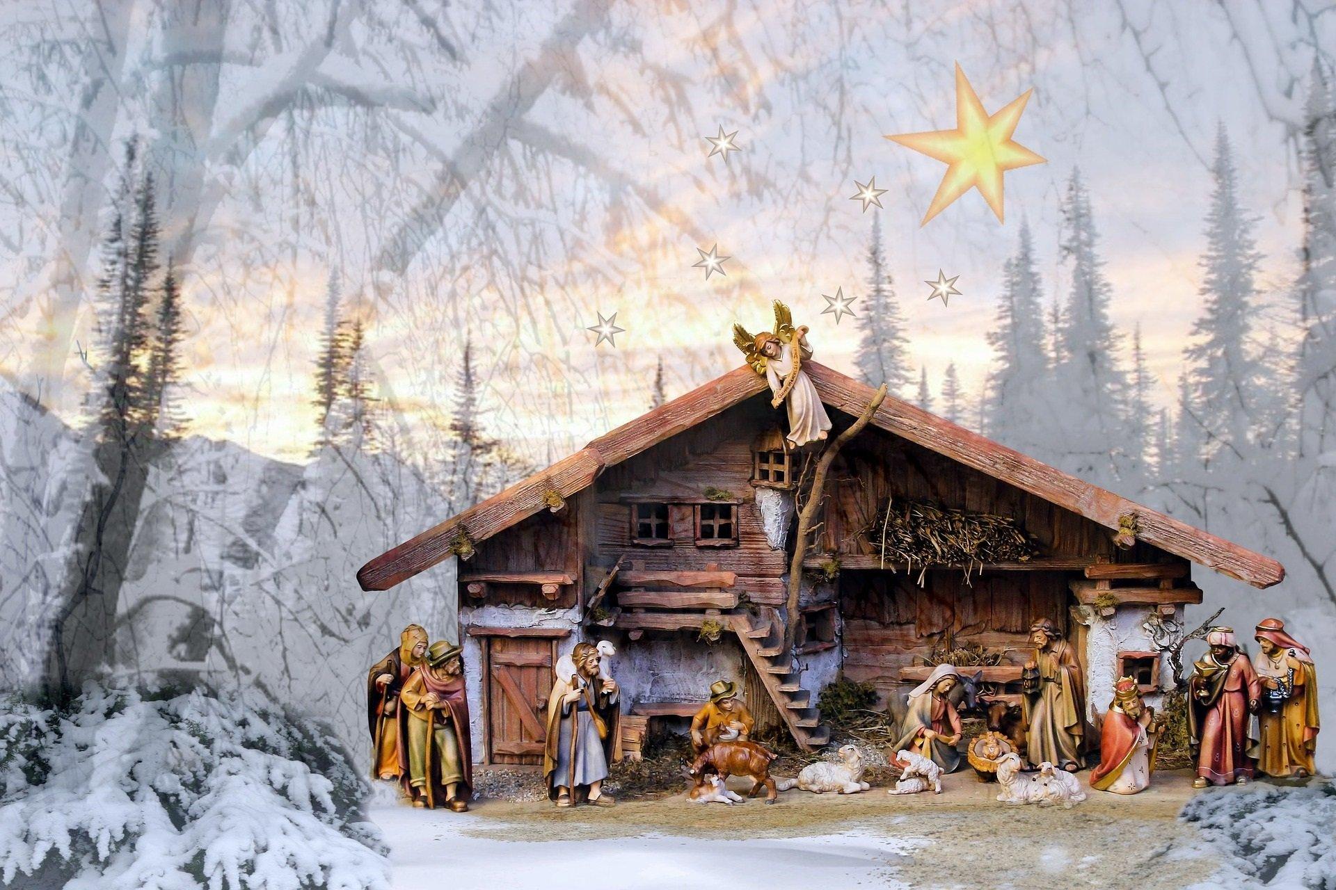 Away in a Manger, piosenka świąteczna dla dzieci po angielsku, tekst i melodia