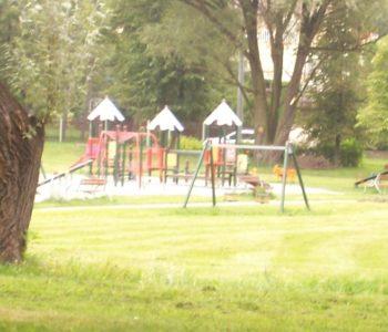 Plac zabaw w Parku Górniczym