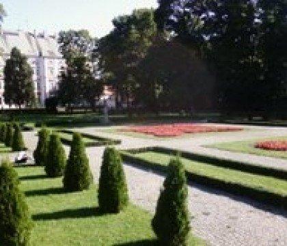 Park Chopina, ul. Podgórna
