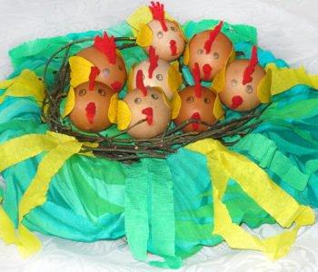 Wiosenne ptasie gniazdo