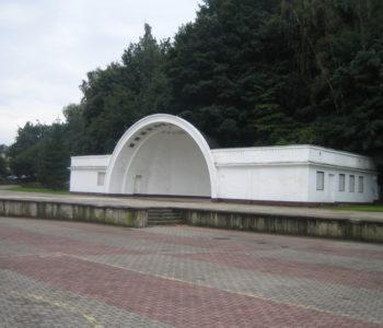 Muszla koncertowa na Placu Grunwaldzkim