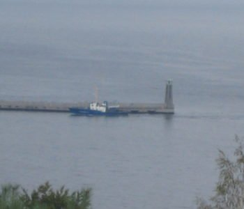 Panorama Gdyni i morza