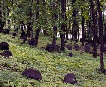 Cmentarz żydowski na zboczu Góry Zamkowej