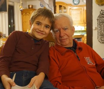 Z dziadkiem
