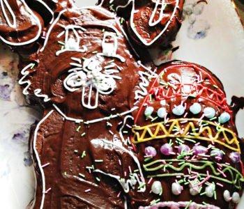 Przepis na ciasto – czekoladowy zajączek z foremki