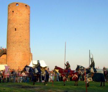 Wycieczka na zamek w Czersku