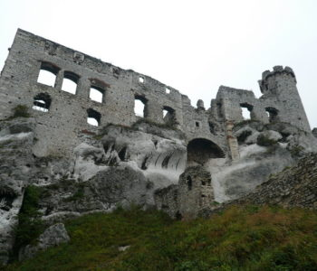 ruiny zamek-w-ogrodziencu