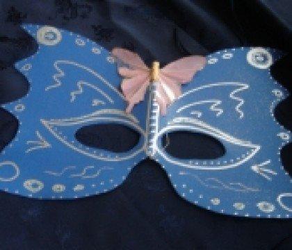 Karnawałowa maska motyl