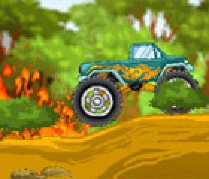Leśny Monster Truck