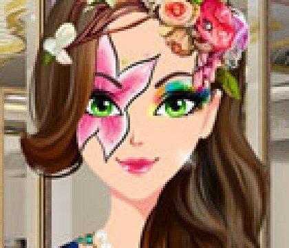 Makijaż o kwiatowej mocy