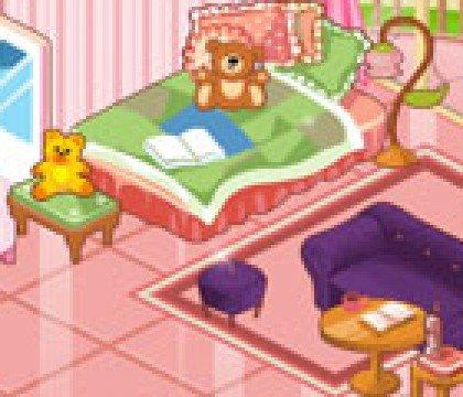 Pokój słodkiego kotka