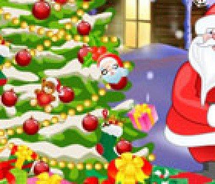 Dekorowanie świątecznej choinki