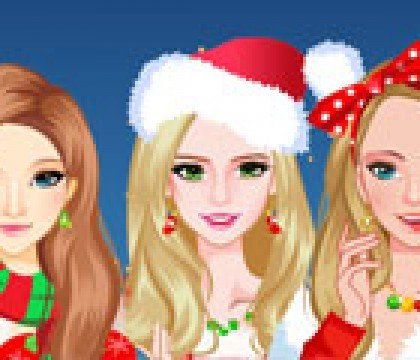 74Modern-Christmas-Girls