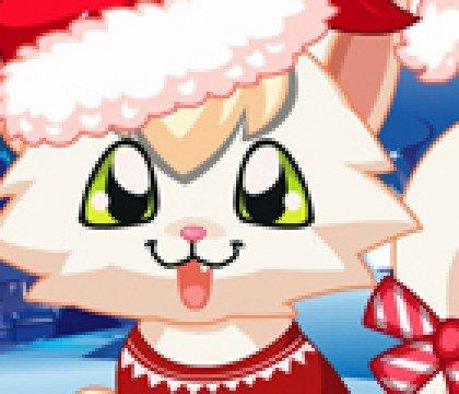 Kotek bożonarodzeniowy