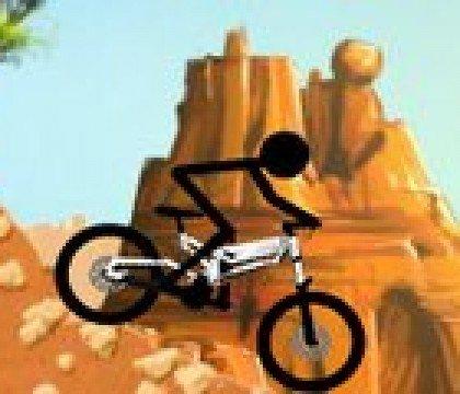 Wyścig rowerowy Stickmana