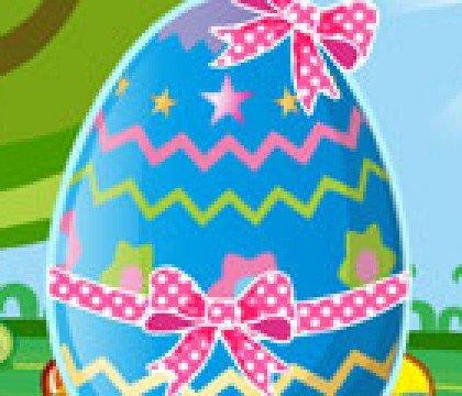 Dekoracja wielkanocnego jajka
