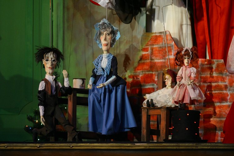 Mr. Scrooge w Opolskim Teatrze Lalki i Aktora