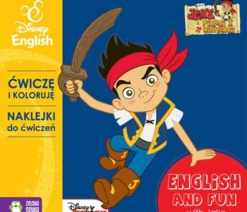 Ćwiczę-i-koloruję-z-Jakiem-Disney-English