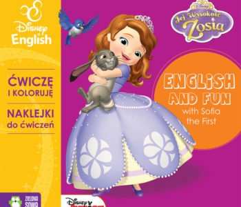 Ćwiczę-i-koloruję-z-Zosią-Disney-English