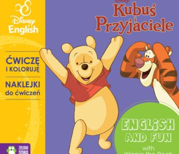 Ćwiczę-i-koloruję-z-naklejkami-z-Kubusiem-Disney-English