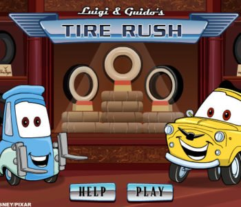 Cars – Luigi and Guido's Tyre Rush