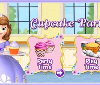 Sofia Cupcake Party