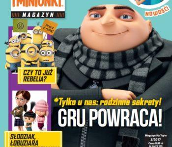 Gru, Dru i Minionki czasopismo dla dzieci
