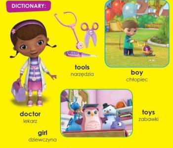 Klinika dla pluszaków uczy angielskiego