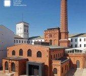 Centralne Muzeum Włókiennictwa siedziba od strony dziedzińca