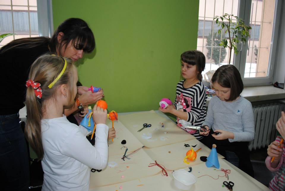 dom kultury ariadna z dziećmi