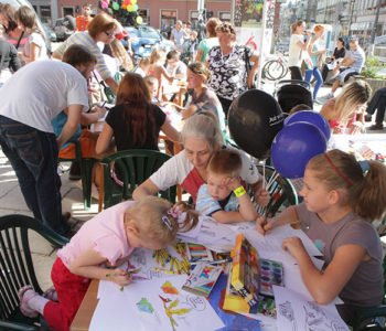 Spotkanie dla dzieci w Łódzkim Cetrum Komiksu