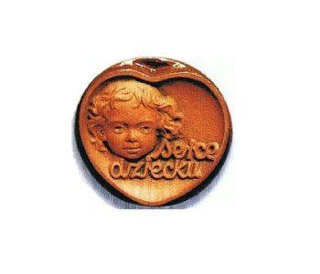 Medal Serce Dziecku przyznawany przez Stowarzyszenie Komitet Dziecka w Łodzi