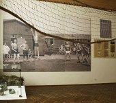 Muzeum Sportu i Turystyki w Łodzi - ekspozycja poświęcona siatkówce.