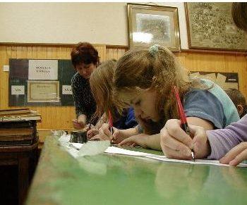 Muzeum Oświaty Ziemi Łódzkiej - lekcja muzealna