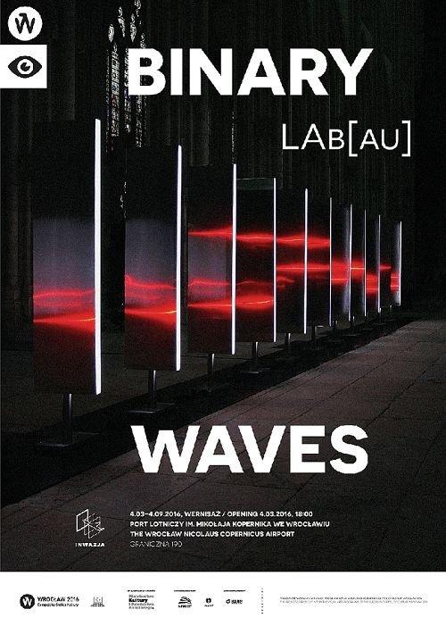 Binary Waves wystawa we Wrocławiu
