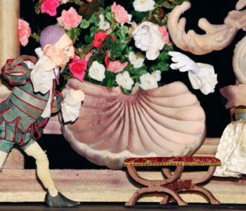 Zdjęcie ze spektaklu Piękna i Bestia w łódzkim Teatrze Arlekin