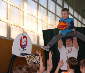 Basket Kids - zajęcia koszykówki dla dzieci