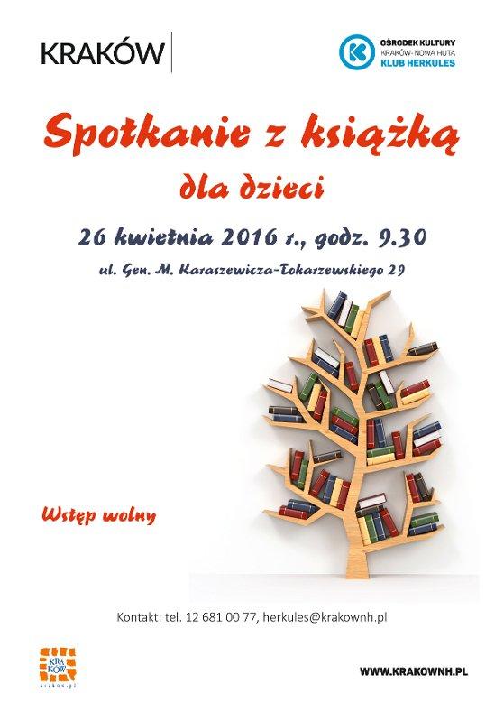 zajęcia literacko-edukacyjne dla dzieci w Krakowie