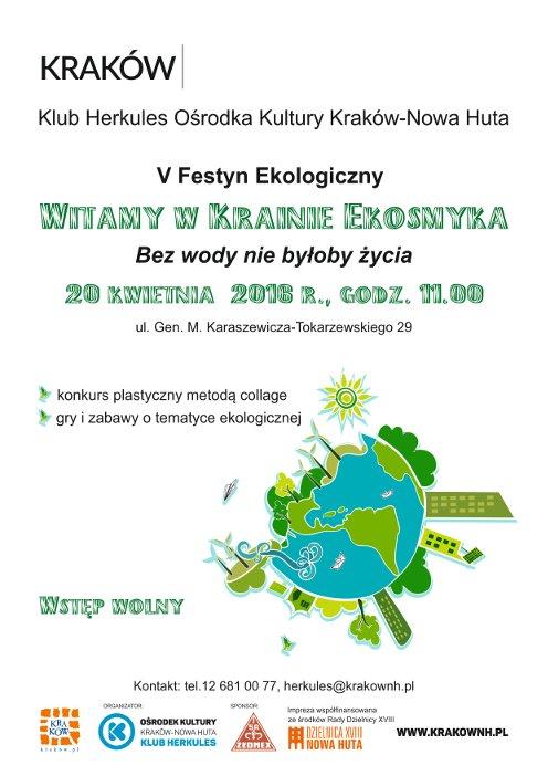 V edycja Festynu Ekologicznego Witamy w Krainie Ekosmyka