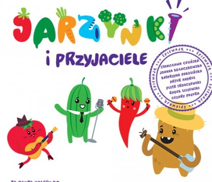 Jarzynki i przyjaciele płyta dla dzieci o warzywach