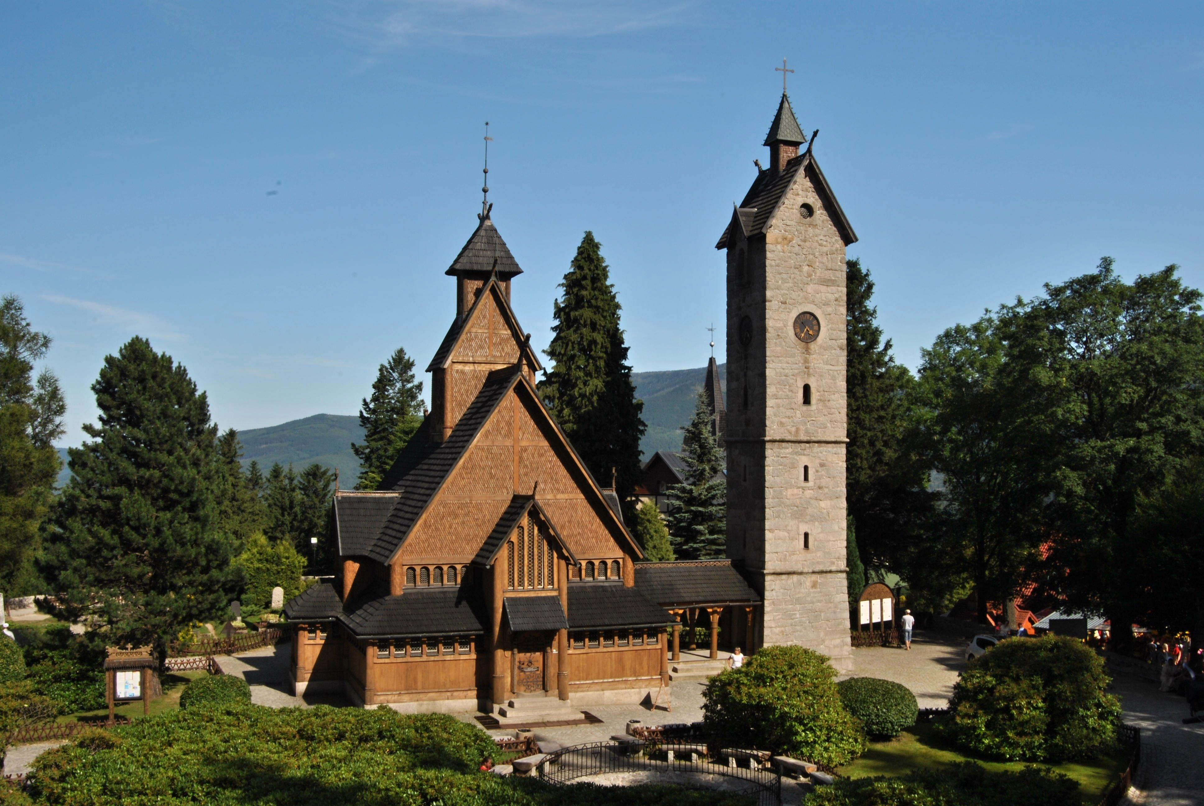 Kościół Wang w Karpacz