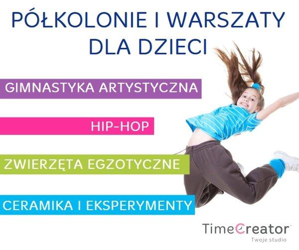 Time Creator Studio - polkolonie letnie