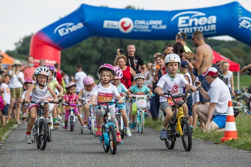 Triathlon dla każdego! Enea Challenge Kids Triathlon 2016