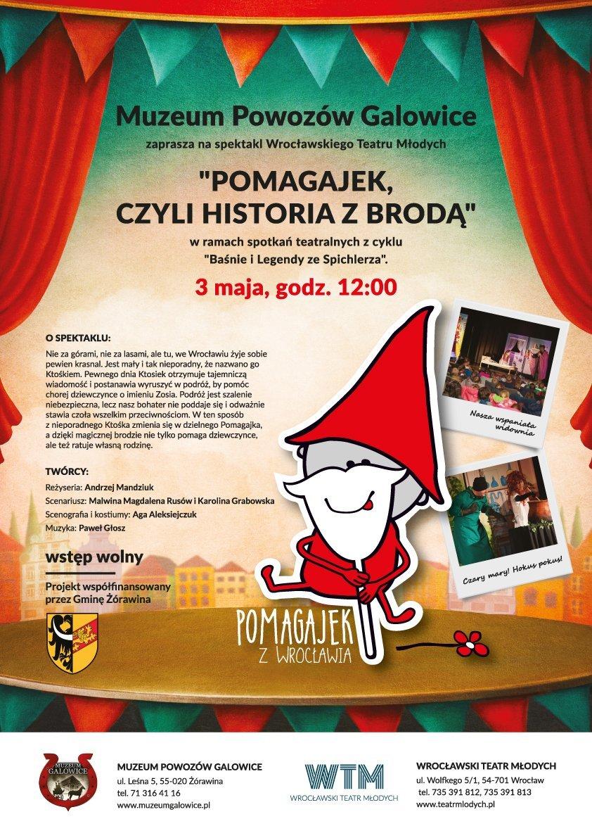 Teatrzyk w Muzeum Powozów Galowice