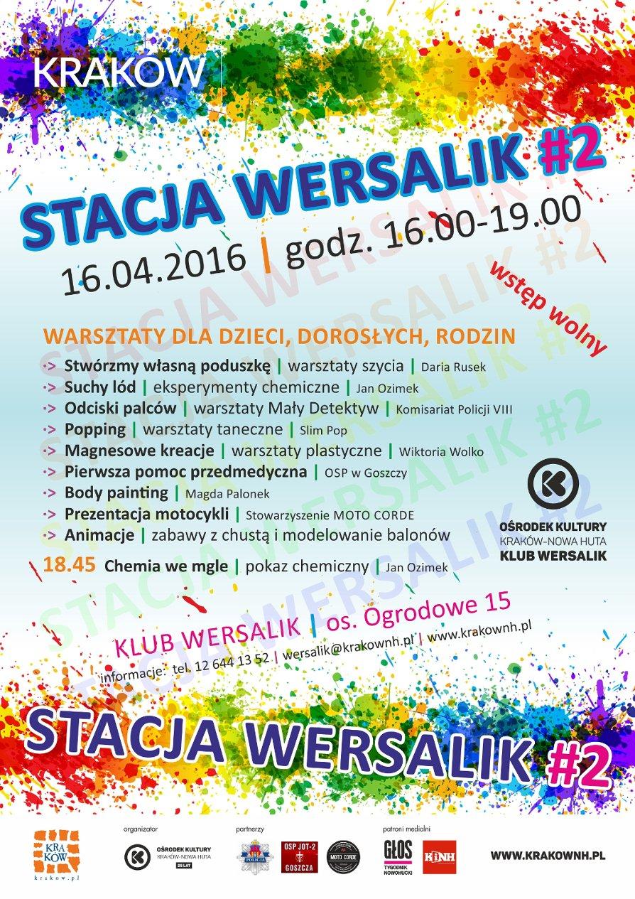 Kulturalna Stacja Wersalik!