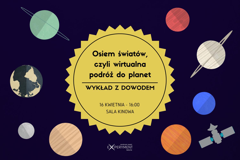 Osiem światów, czyli wirtualna podróż do planet