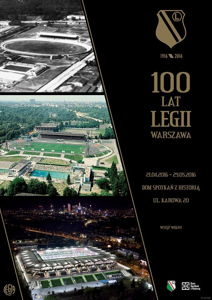 Wystawa 100 lat legia warszawa piłka nożna football DSH