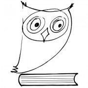 biblioteka warszawa srodmiescie logo sowa