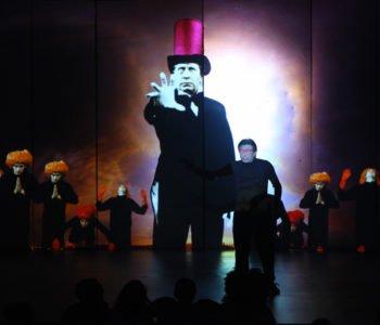 czarnoksiężnik oz teatr pinokio
