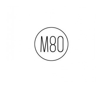logo Pracownia m80 warszawa